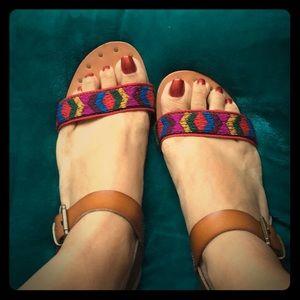 Boho sandal.